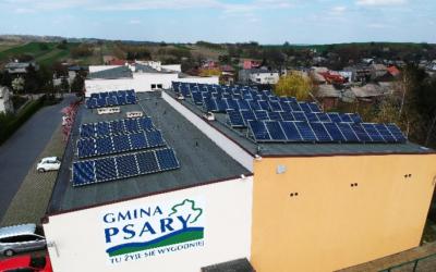 Instalacje wybudowane dla gminy Psary